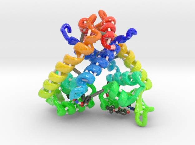 Multiple Antibiotic Resistance Repressor MarR in Glossy Full Color Sandstone