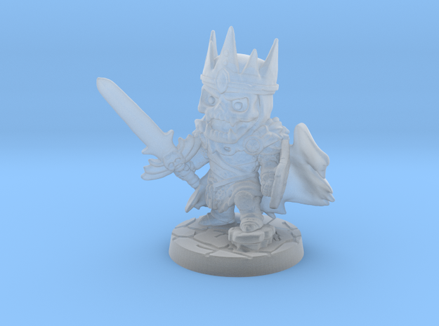 Undead King v2 in Smooth Fine Detail Plastic