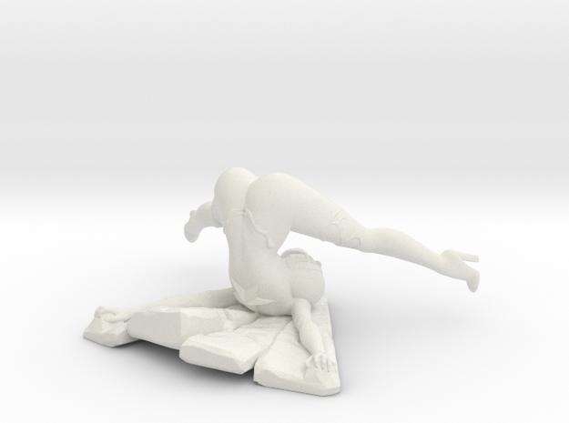 Aimsee Bad Landing 3.5'' Versatile Plastic in White Natural Versatile Plastic