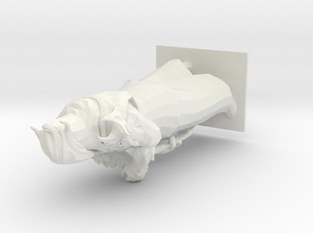 Hexblade in White Natural Versatile Plastic