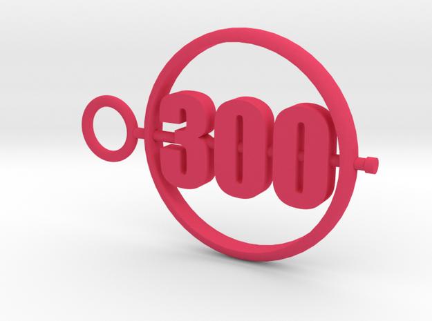 300_50mm in Pink Processed Versatile Plastic