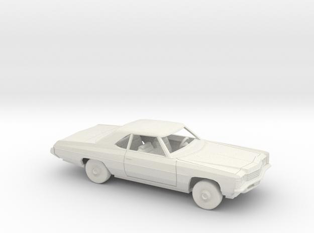 1/25 1971 Chevrolet Impala Sport Coupe Kit in White Natural Versatile Plastic