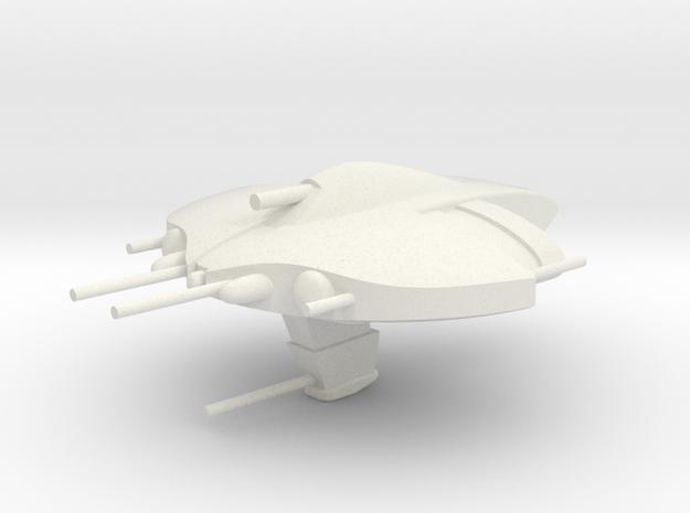 Nietszchean Destroyer #1 / 6cm - 2.36in in White Natural Versatile Plastic