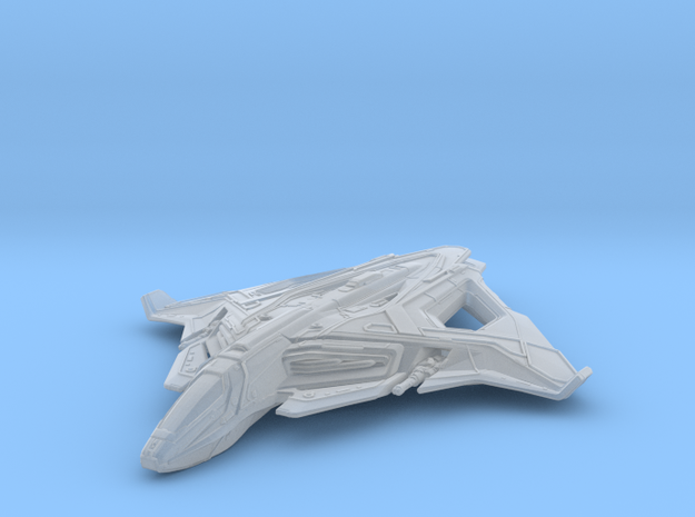 Raven in Smooth Fine Detail Plastic