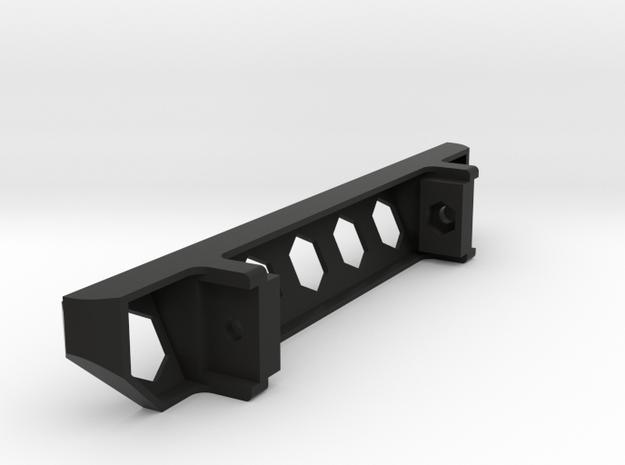 TZK002 Toyzuki Hexagon Series rear Bumper in Black Natural Versatile Plastic