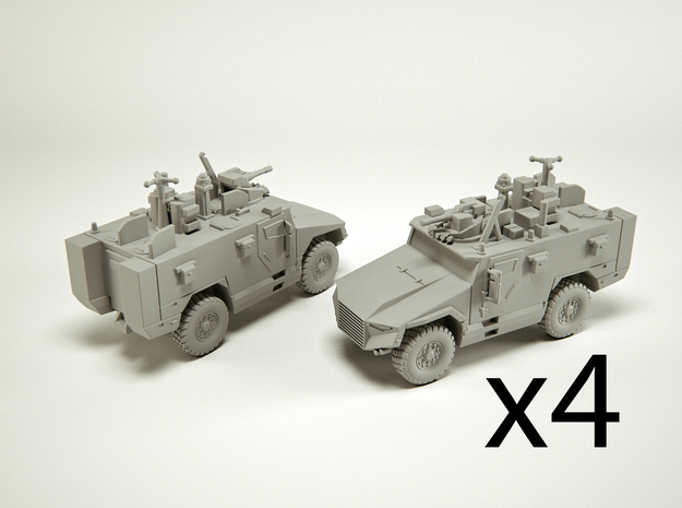 Nexter VBMR Light Scale: 1:285 x4 in Smooth Fine Detail Plastic