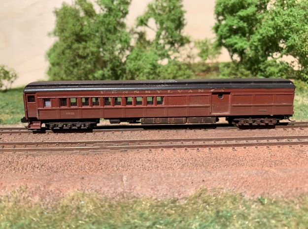 N-scale (1/160) PRR PB70 Combine in Smoothest Fine Detail Plastic