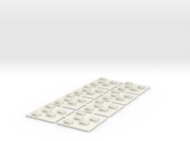Bote de Asalto Dreadclaw in White Natural Versatile Plastic