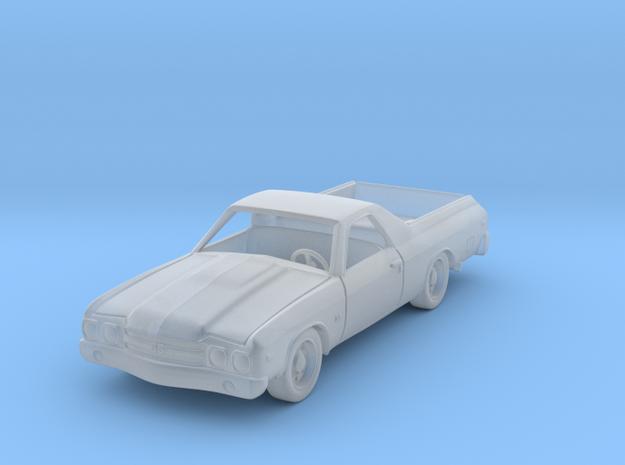 Chevrolet El Camino 1:87 HO in Smooth Fine Detail Plastic