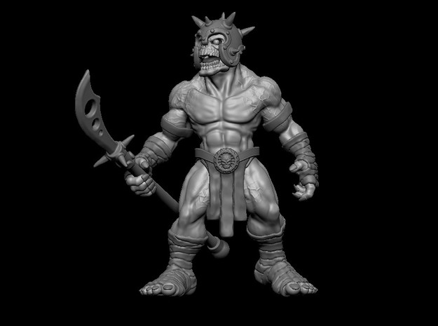 02 ALT Lord Dreadcore in Smooth Fine Detail Plastic