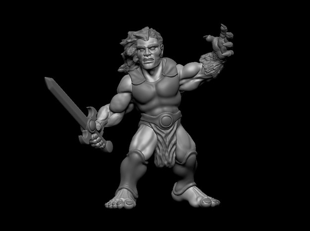 Leo in Smooth Fine Detail Plastic