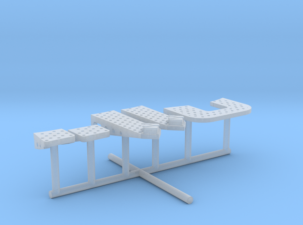 1/144 IJN Yamato Bridge Structure Platforms Part 5