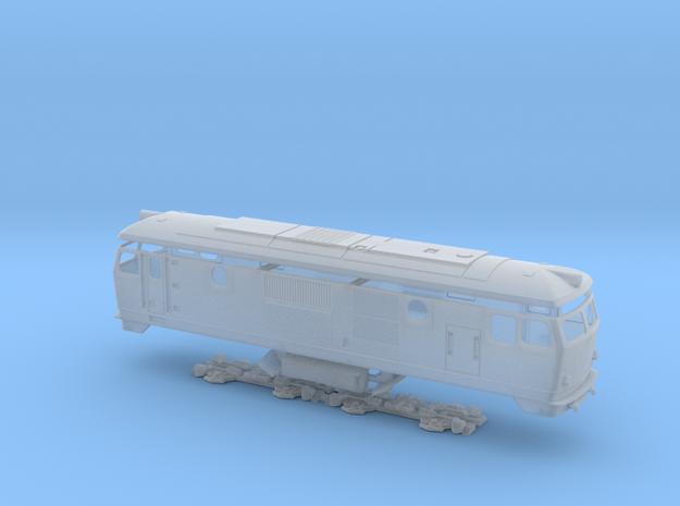 BDŽ 76 in Smooth Fine Detail Plastic: 1:87 - HO