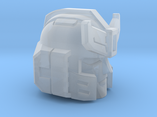 Silverblue Daemon Head for Combiner Wars v2 in Smooth Fine Detail Plastic