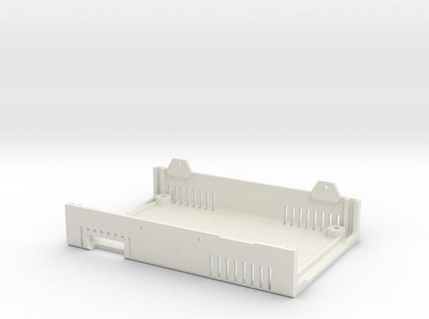 MiSTer XS Case v5.x XS Bottom Shell (2/4) in White Natural Versatile Plastic