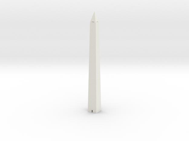Washington Monument 1/700 in White Natural Versatile Plastic