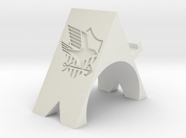 Eagle Union Phone Stand in White Natural Versatile Plastic: Small