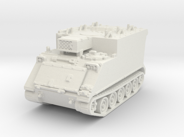 M577 A1 (no skirts) 1/100 in White Natural Versatile Plastic