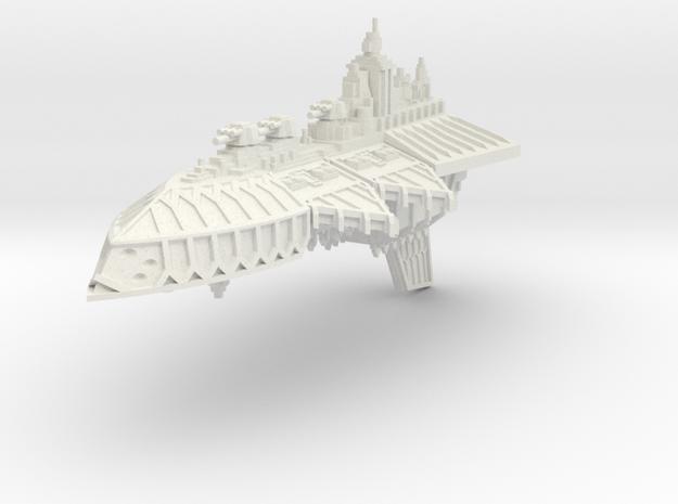 Gran Crucero de Renombre Iron Wolf in White Natural Versatile Plastic