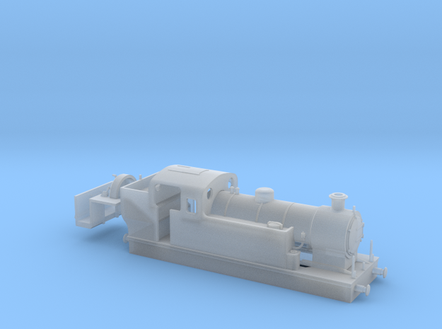 009 Maunsell Tank 1 (Kato Chassis, Vacuum) in Smooth Fine Detail Plastic