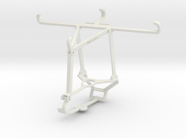 Controller mount for Steam & vivo Z3x - Top in White Natural Versatile Plastic