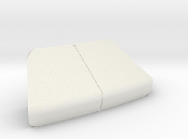 LANDING BAY DOORS, STARBOARD, REV C in White Natural Versatile Plastic