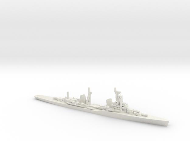 Soviet Kirov-class Cruiser in White Natural Versatile Plastic