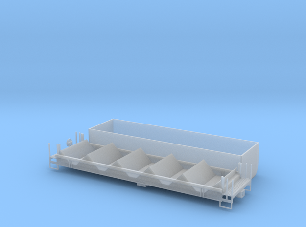 Coil Car II - HOscale in Smooth Fine Detail Plastic