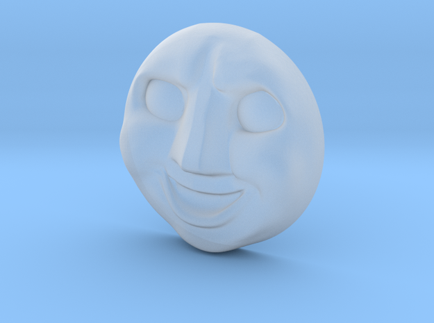 Smudger Face #1 [H0/00] in Smooth Fine Detail Plastic