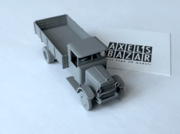 Berliet CBAc 1928-1932 in Smooth Fine Detail Plastic