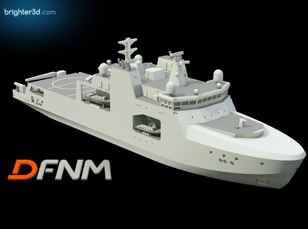 Harry DeWolf AOPV in White Natural Versatile Plastic: 1:700