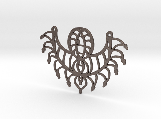 :Twisted Elements: Pendant 3d printed