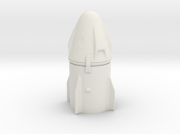 Ultra detailed Crew Dragon Capsule 1/144 scale
