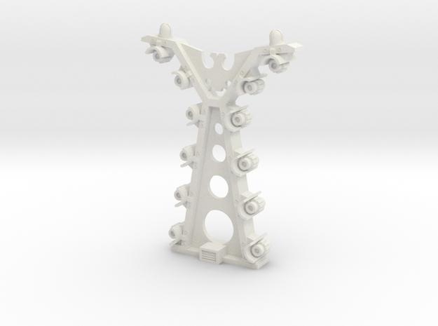 AnphelionBase_FencePylon in White Natural Versatile Plastic