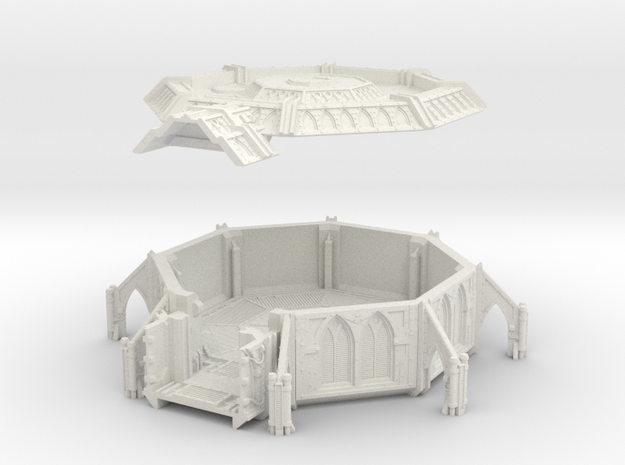 AnphelionBase_RoomAlpha in White Natural Versatile Plastic