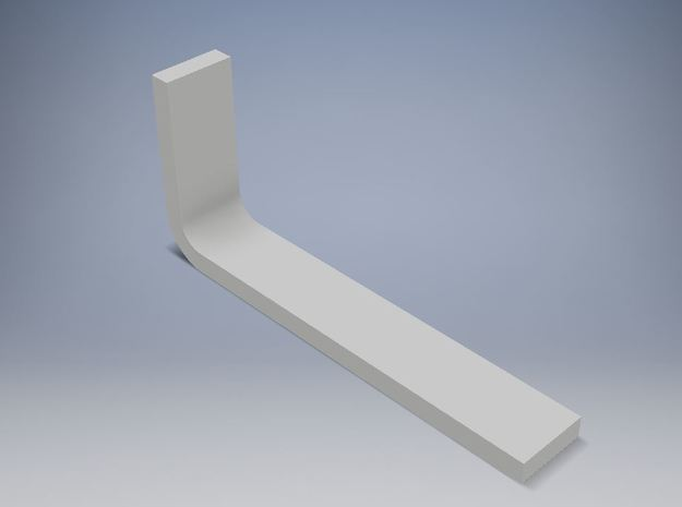 Churchill NACELLE PYLON INSERT (PORT AND STARBOARD in White Natural Versatile Plastic