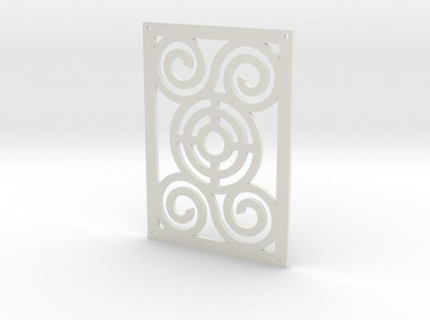 rectangle voronoi 140100003 in White Natural Versatile Plastic