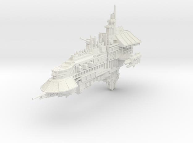 "Gran Crucero de Renombre ""El Tribuno"" in White Natural Versatile Plastic"
