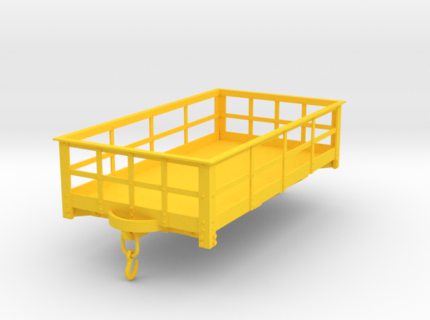 FRC13 Festiniog Railway 3 Ton Slate Wagon (SM32) in Yellow Processed Versatile Plastic