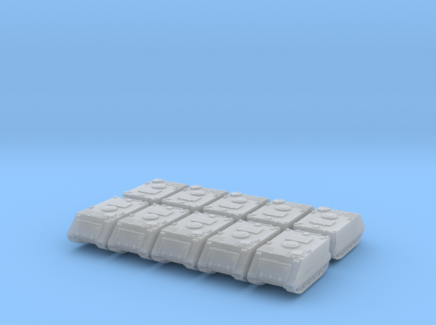 1:144 M113 APC MTW set of 10 in Smooth Fine Detail Plastic