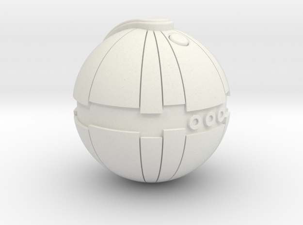 Thermal Detonator in White Natural Versatile Plastic