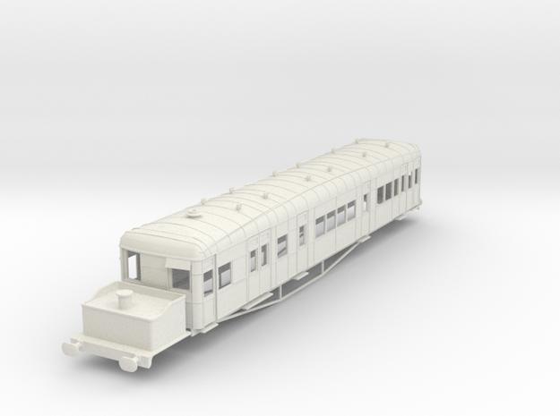 o-50-gsr-clayton-steam-railcar-scheme-A in White Natural Versatile Plastic