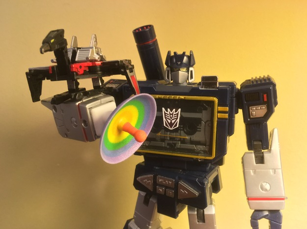 Gaydar for Masterpiece Soundwave in Glossy Full Color Sandstone