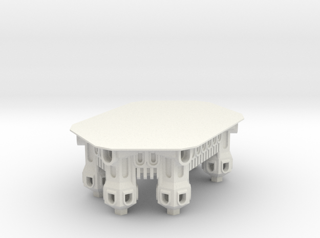 SixTowerCastle Fixed 3d printed