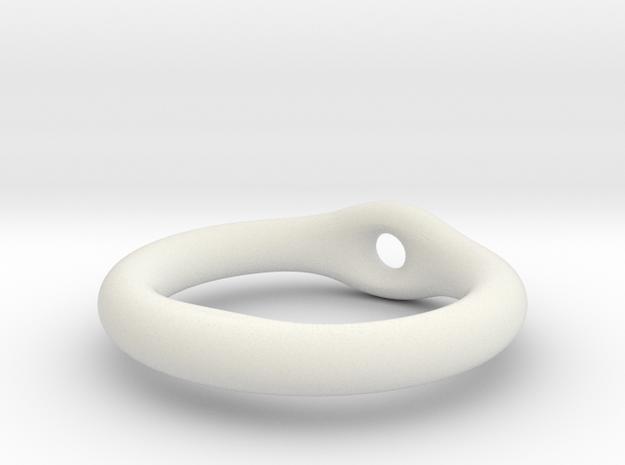 ring lashing in White Natural Versatile Plastic