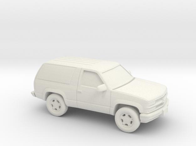 1/64 1992-95  Chevrolet Blazer in White Natural Versatile Plastic