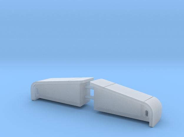 Peterbilt 377SBA Headlights in Smoothest Fine Detail Plastic