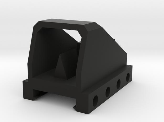 Mini Dot Sight for Nerf Rival Rail in Black Natural Versatile Plastic