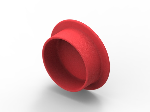 Lens cap for Neewer Right Angle Viewfinder in Red Processed Versatile Plastic