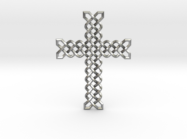 Knots Cross in Natural Silver